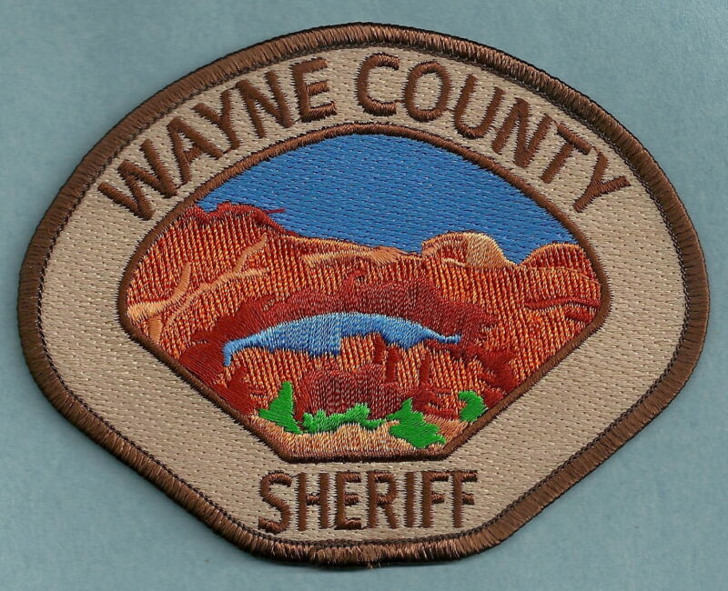 WAYNE COUNTY SHERIFF UTAH SHOULDER PATCH
