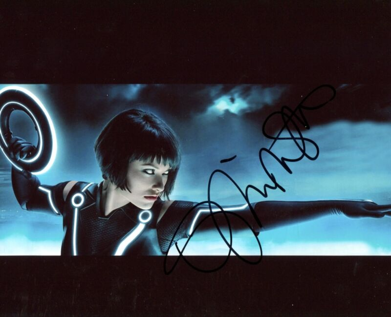 "ACTRESS Olivia Wilde ""TRON"" autograph, signed photo"