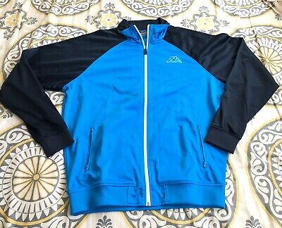 Kappa Track Jacket Soze XL Blue - Sky Blue