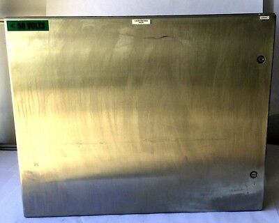Hoffman Csd24308ss Industrial Control Panel Enclosure Stainless Steel