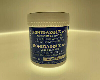 Ronidazole 10% 50g (Trichomoniasis Canker) for Pigeons