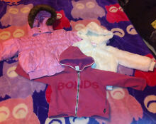 Girls Size 2 Jumpers/Long Sleeves (13 Pieces) Melton Melton Area Preview
