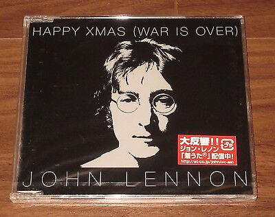 SEALED! John LENNON Japan PROMO ONLY 1 track CD official THE BEATLES Happy Xmas