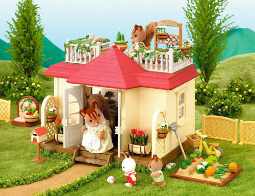 Sylvanian Families Calico Critters Luxury Townhouse Patio Terrace