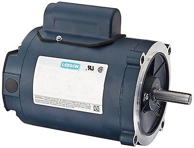 Leeson Electric Motor 110057.00 34 Hp 1725 Rpm 1-ph 115208-230 Volt 56c Frame
