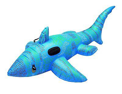2 x aufblasbarer Hai mit Griffen, 170 cm, Pool-Spielzeug, Aufblastier