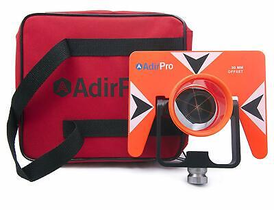 Adirpro Metal Single Wide Tilting Prism For Total Station Surveying With Case