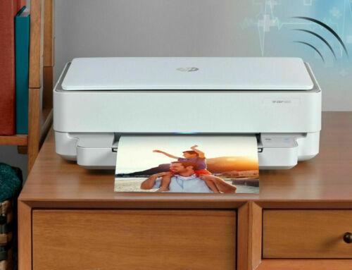 New HP Envy 6052/6055 Printer-Wireless-Copy-Scan-Photo-Air Print+Free HP INK