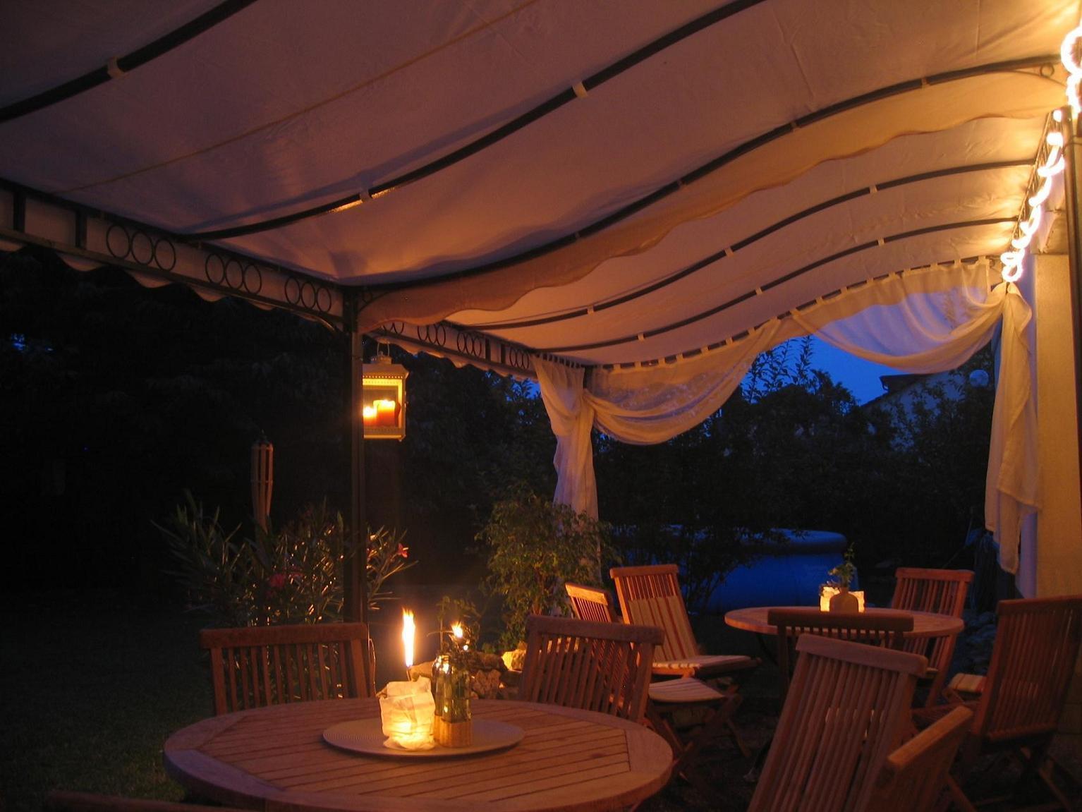 terrassen berdachung pergola feststehende markise terrassenpavillon 3m x 2 5m eur 549 00. Black Bedroom Furniture Sets. Home Design Ideas