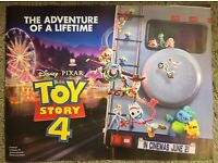 TOY STORY 4 WOODY TEXTLESS POSTER FILM A4 A3 A2 A1 LARGE FORMAT CINEMA MOVIE