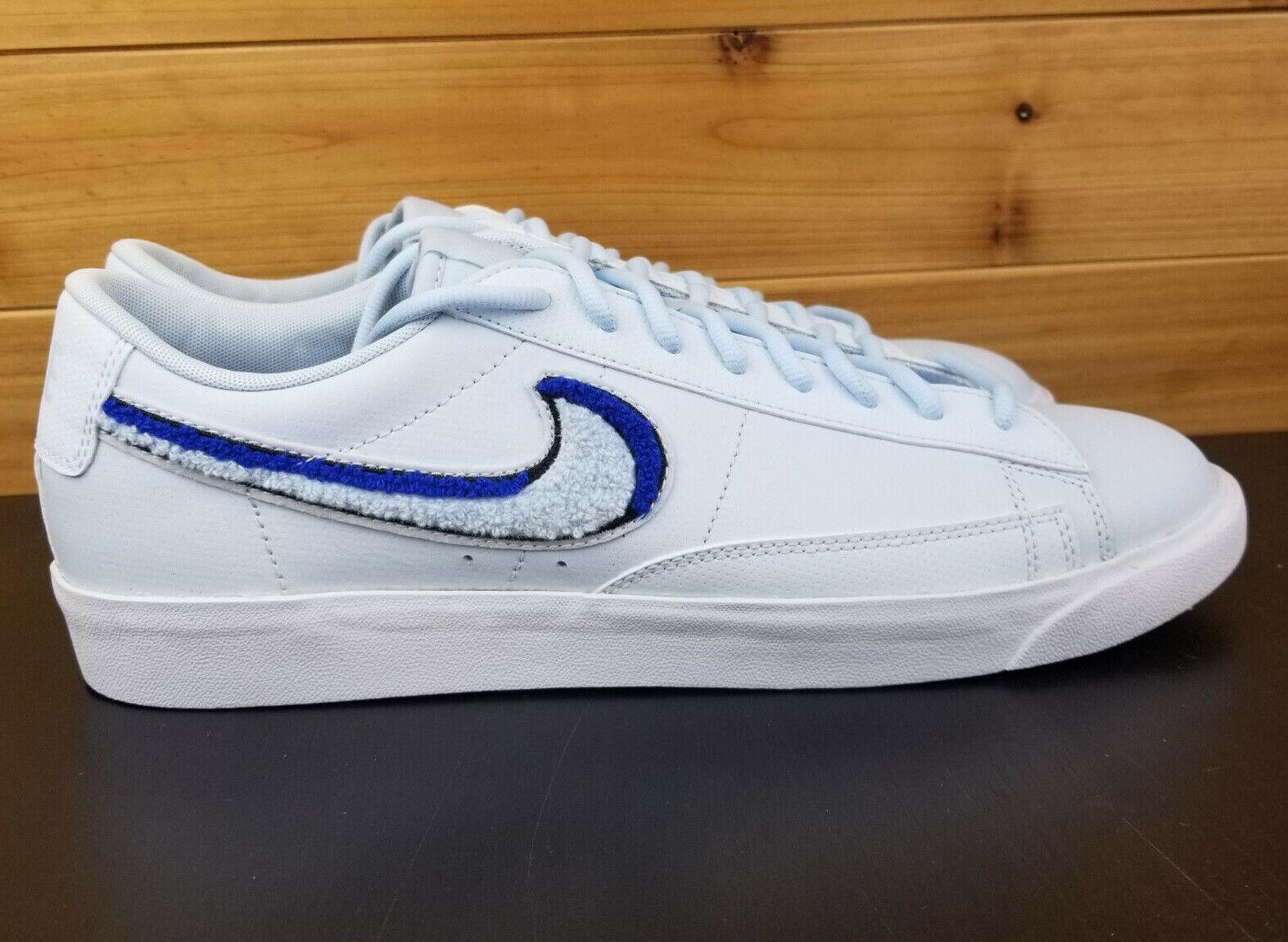 Nike Blazer Low 3d Light Blue Mens