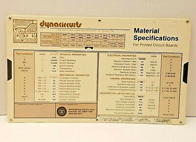 VTG Westinghouse Electric Corp Dynacircuits Printed Circuit