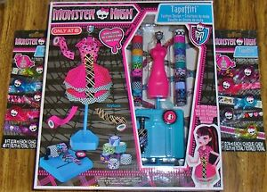 Monster High Tapeffiti Fashion Design Image is loading Monster High