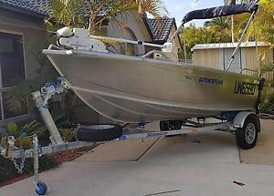 410 STESSCO CATCHER ALUMINIUM BOAT AND TRAILER - 2011 MODEL Burleigh Waters Gold Coast South Preview