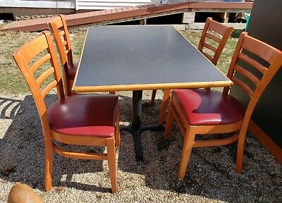 Restaurant Booth Tables Chairs Used Good Condition From Old Pizza Hut
