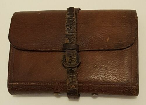 Vintage Hardy Brothers Alnwick Leather Fly Wallet