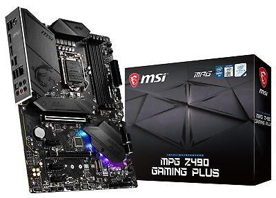 MSI MPG Z490 GAMING PLUS Socket LGA1200 Intel 10th Gen ATX M