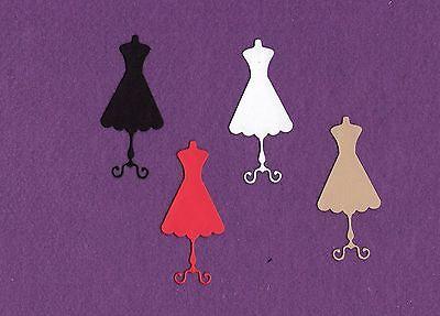 DRESS FORM SWEET sewing die cuts scrapbook (Dress Form Die Cuts)