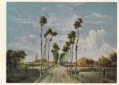 The Avenue by Meyndert Hobbema National Gallery unused Postcard