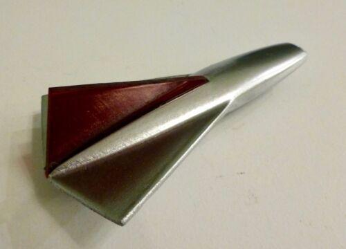 Reproduction Huffy bicycle fender ornament Silver Jet Eldorado El Camino Corvair