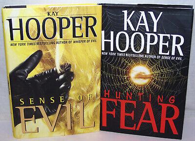 2 Novels Best Selling author: Kay Hooper:Hunting Fear, Sense of Evil