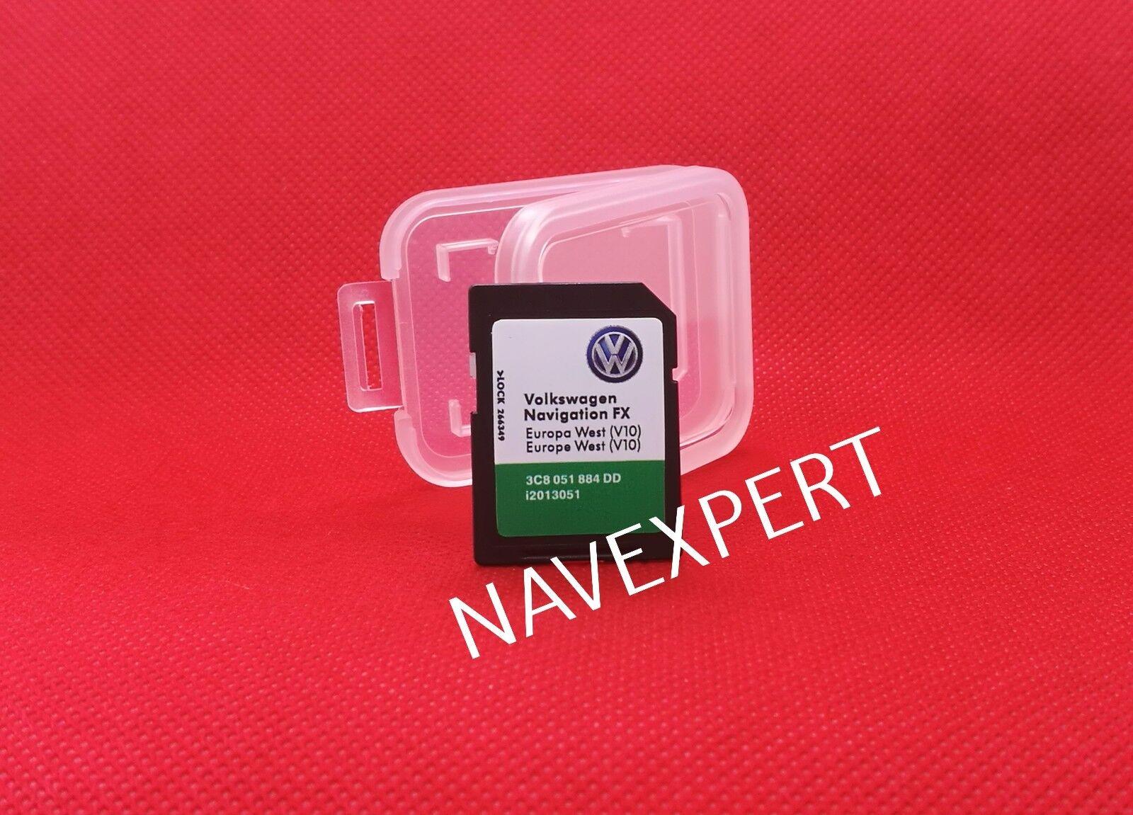 Volkswagen Navigations SD Karte FX Europa West (V10) 2018 RNS 310 3C8051884DD