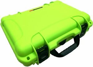 Lime Green Nanuk 910 Case With Foam