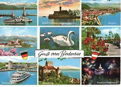 AK Ansichtskarte Gruß vom Bodensee - 1963