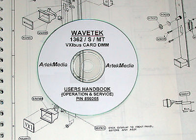 Wavetek Datron1362 Smt Users Service Operating Manual