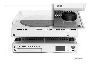 HiFi-ZEILE Die Lösung: 15mm Stapelfüße für Braun Atelier Geräte R4; PA4;