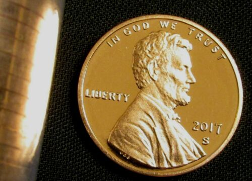 2017-S San Francisco Mint Lincoln Shield Cent Proof