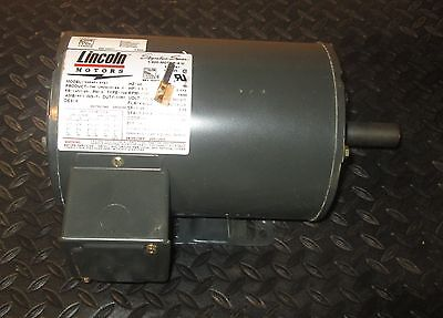 1-12 Hp Lincoln 3 Phase Electric Motor Ssd4p1.5t61 Nos