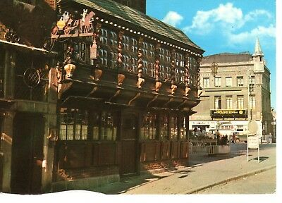 AK Ansichtskarte Aachen / Postwagen