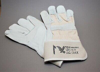 Arbeitshandschuhe Leder Adler C Handschuhe robuste Lederhandschuhe Gr. - Adler Handschuhe