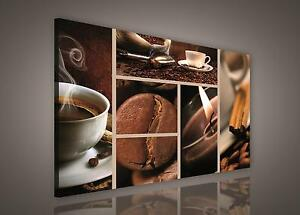 CANVAS PRINT PHOTO PICTURE (PP175O1) 100x75cm Coffee Cafe Kitchen