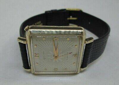 Vintage Hamilton Electric Victor Wristwatch Serviced Caliber 500 Movement