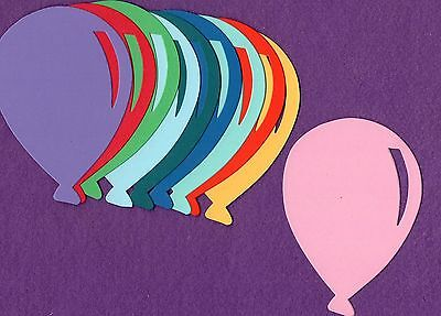 BALLOON die cuts scrapbook cards