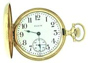 Antique Elgin Gold Pocket Watch