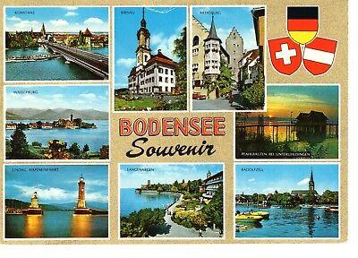 AK Ansichtskarte Bodensee Souvenir - 1972