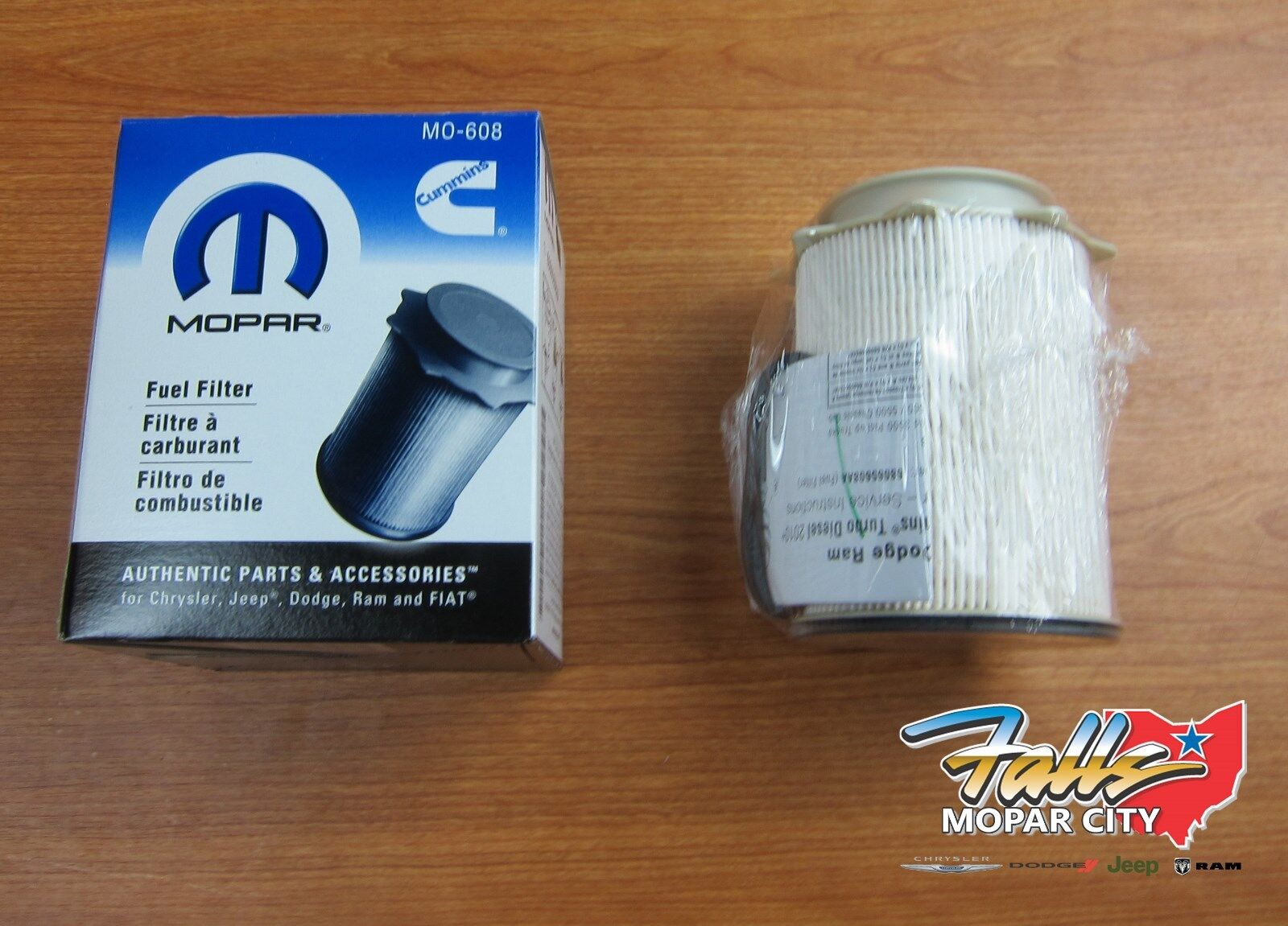 2010 12 Dodge Ram 2500 5500 67l Cummins Turbo Diesel Fuel Filter 2008 Jeep Wrangler Mopar Oem