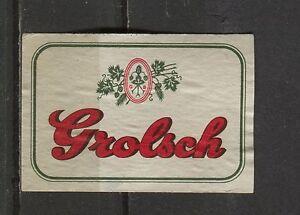 Grolsch-Beer-Dutch-Vintage-Matchbox-Label