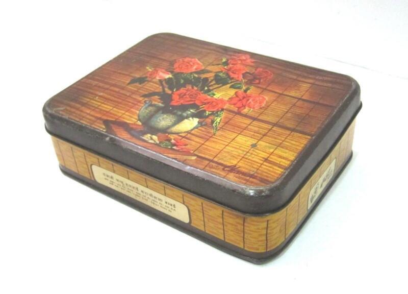 Vintage Tin Box Ebay