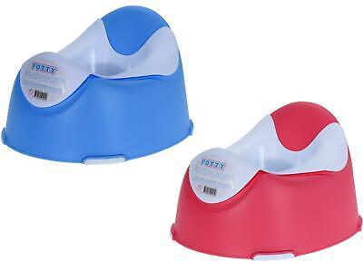 Kindertoilette POTTY mit ausschüttbarem Einsatz - Töpfchen Toilettentrainer ()