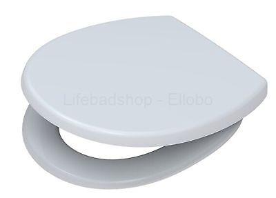 *Abverkauf* FORMAT WC Sitz weiss KEIN Softclose FO04189000 Edelstahlscharnier