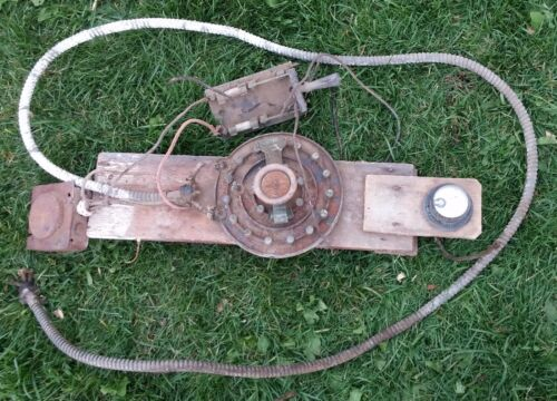 Antique Simplex Rheostat Fused Knife Switch Early Ammeter