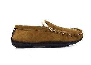 Lamo-Mens-Suede-Leather-Boston-Driving-Moc-Chestnut-CM1244