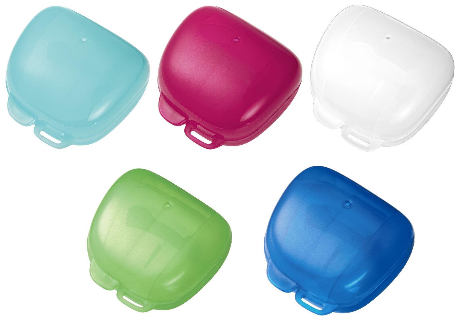 nip Schnullerbox Aufbewahrungsbox Desinfektionsbox 5 Farben zur Auswahl *NEU*
