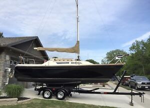 **New Price** 1979 23' SPIRIT SAILBOAT WITH TRAILER