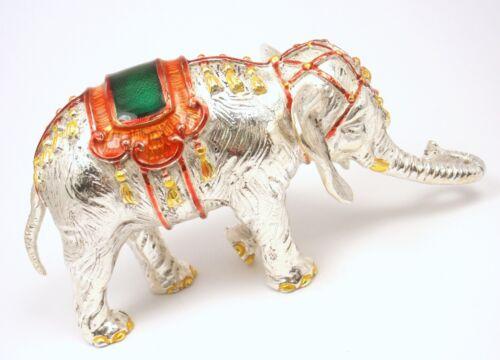Rare Vintage Tiffany & Co Gene Moore Sterling Silver Enamel Circus Elephant