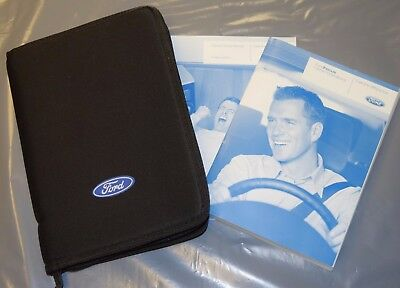 GENUINE FORD FOCUS 2008-2011 Mk2 OWNERS MANUAL HANDBOOK PACK INC AUDIO RADIO CD